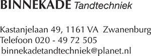 Binnekade Tandtechniek - Tandtechnisch Laboratorium